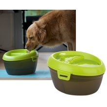 Dog Drinking Fountain, Fresh Water Drinking Fountain With Dental Care 6L