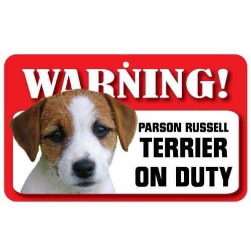 Parson Russell Terrier Pet Sign