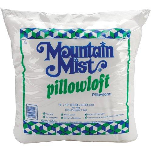 "Mountain Mist Pillowloft Pillowform-16""X16"" FOB: MI"