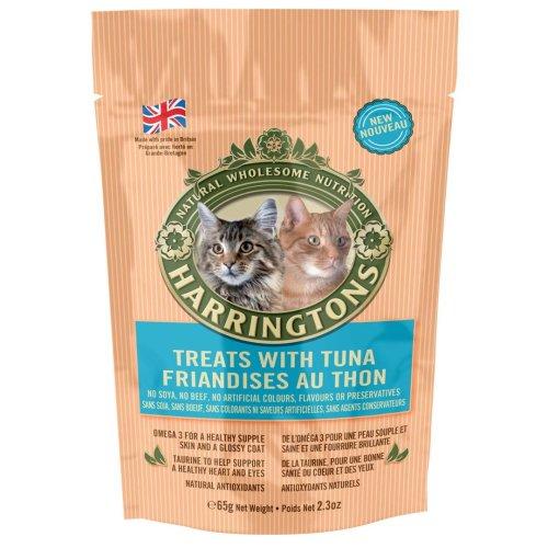 Harringtons Cat Treats With Tuna 65g (Pack of 12)