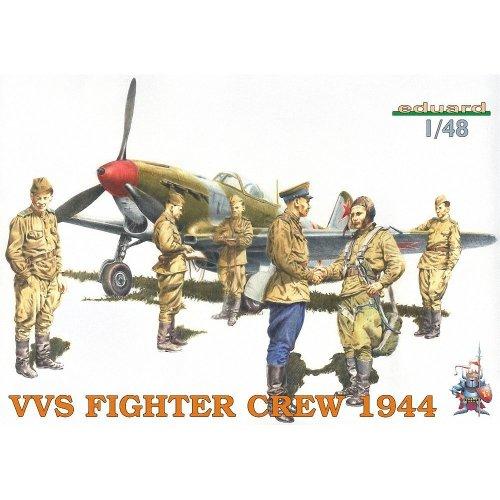 Edk8509 - Eduard Kits 1:48 - Vvs Fighter Crew 1944