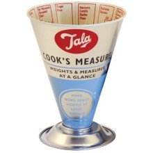 Retro Cooks Measure With Imperial & Metric Measurements -  cooks measure tala retro dry 10b11598