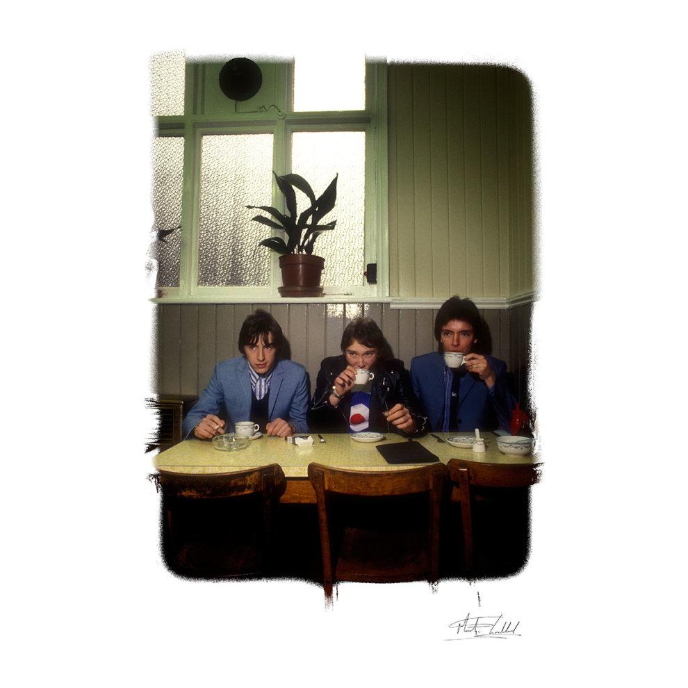 b804962da ... Martyn Goddard Official Photography - The Jam News Of The World Cafe Men's  Baseball Long Sleeved ...
