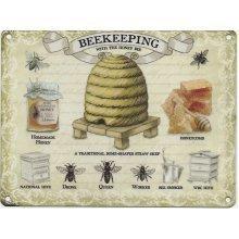 Metal Sign - Beekeeping- Metal Sign