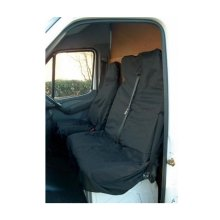 Cover - Universal Van / Pick-up Seat Set - Black - Maypole Protector Mp6525 -  universal seat cover van maypole protector mp6525 double waterproof set