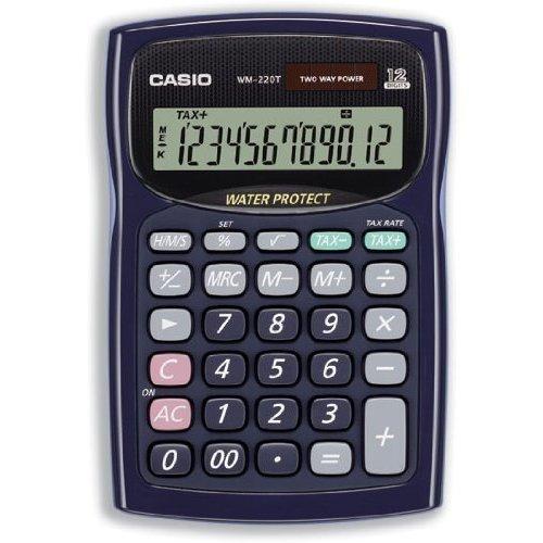 Casio WM220T Desk Calculator