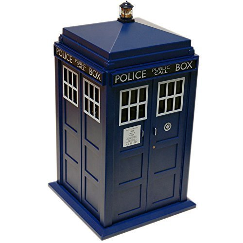 Doctor Who Tardis Lights & Sounds Plastic Cookie Jar, Dr48 - Jar Sound New -  who tardis cookie jar doctor sound new official dr biscuit tin lights