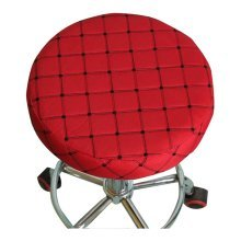 Creative Wrapping Round Stool Seat Cushion Beautiful Lattice Round Cushion,A3