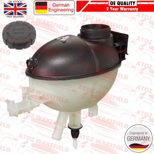 FOR MERCEDES C E CLASS GLK COOLANT EXPANSION TANK RESERVOIR A2045000049 + CAP