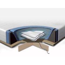 Waterbed mattress 180x200 cm - 2 x Heating - Cover - Foam Frame - Platform - Conditioner