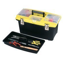 Stanley Toolbox 40.5x25.4 cm Plastic Black and Yellow 1-92-905