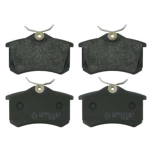 febi bilstein 16404 brake pads (Set of 4) (rear axle)