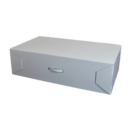 Super XL Wedding dress storage box. 40 Sheets Acid free tissue included. 92x51x26cm