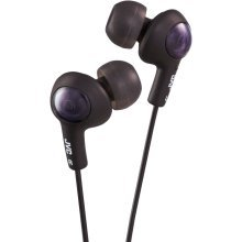 JVC Gumy Plus Noise Isolating Headphones - Olive Black