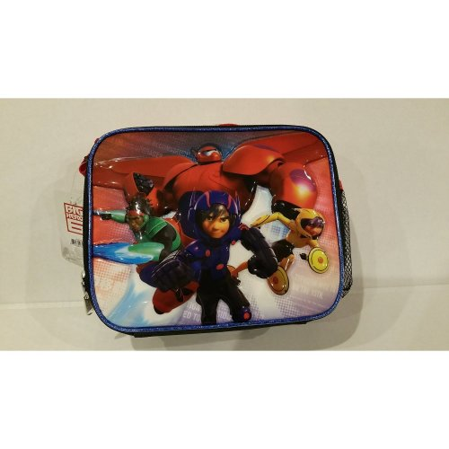 Lunch Bag - Disney - Big Hero 6 Group Kids Kit Case New 622398