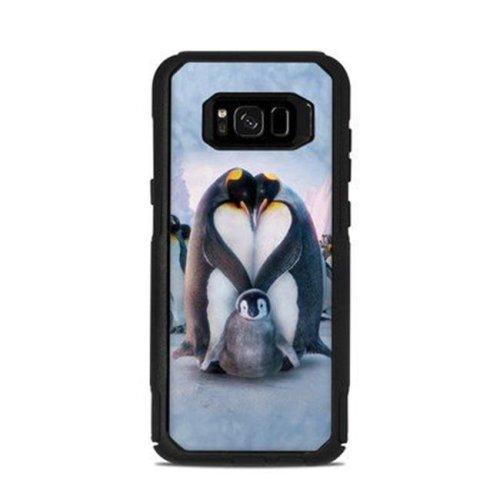 DecalGirl OCS8P-PENGUINHEART Otterbox Commuter Galaxy S8 Plus Case Skin - Penguin Heart