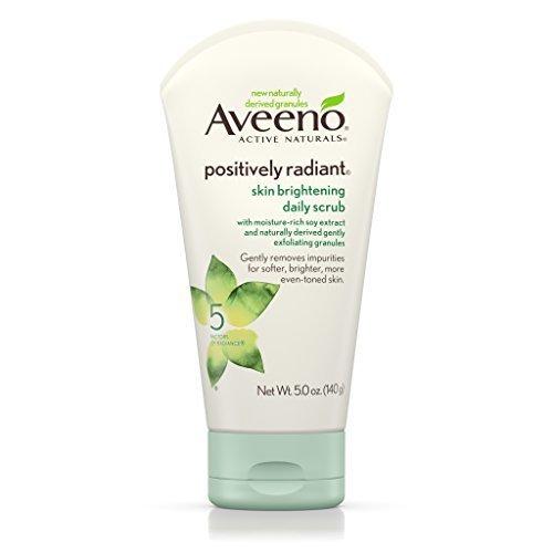 Aveeno Positively Radiant Skin Brightening Exfoliating Daily Scrub, 5 Oz