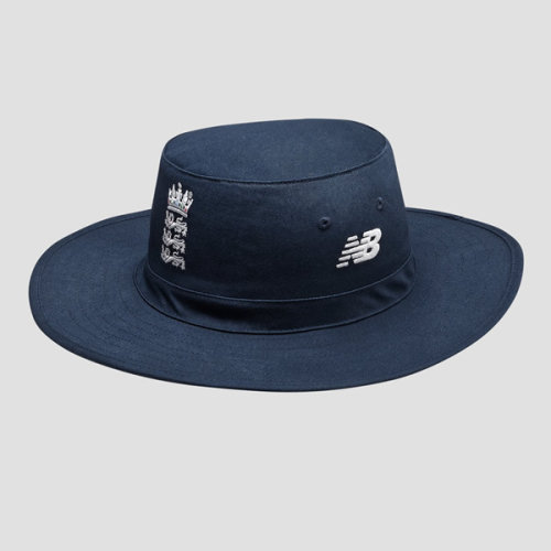 2019/20 New Balance ECB England Wide Brim Cricket Sun Hat, Galaxy