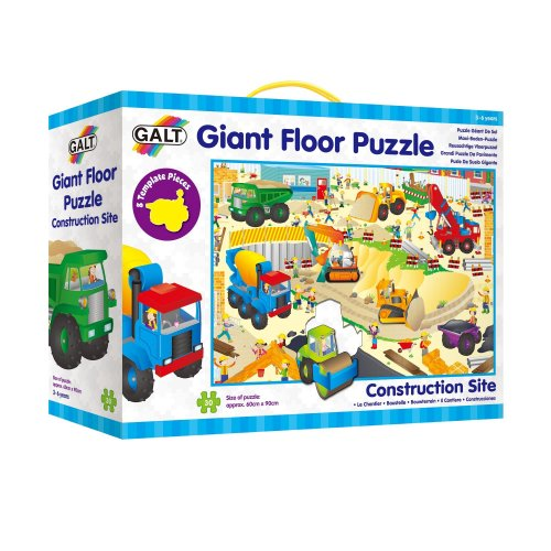 Galt Toys Giant Floor Puzzle Construction Site On Onbuy