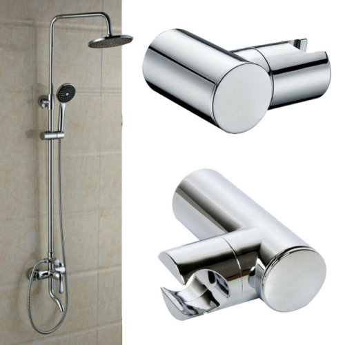 New Shower Head Holder Replacement Bracket Bathroom Wall Mounted Hose Chrome