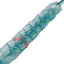 Fishing Net Baits Cast Mesh Trap for Small Fish Shrimp Crayfish Crab 2.4m - 8 Holes