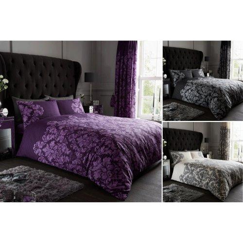 Empire Damask Luxury Duvet Cover Set