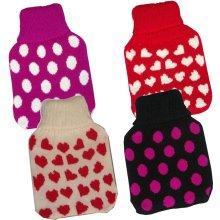 500ml Kid's Hot Water Bottle Cover - Assorted Designs -