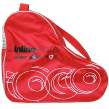 Roller Skate Bag Roller Carry Bag Skate Sack Roller Skate Derdy Tote, Red