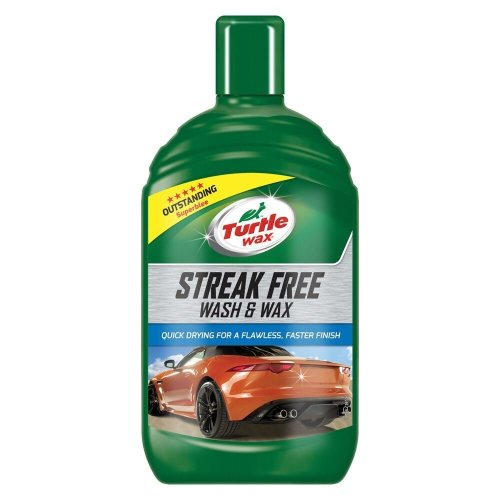 Turtle Wax Streak Free All in One Car Shampoo Wash & Car Wax 1 Litre