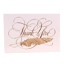 6 Pcs Premium Greeting Card Holiday Greeting Card Business Thank You Card [F]