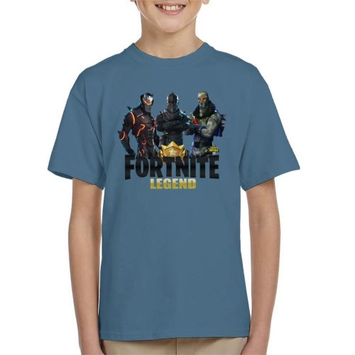 Fortnite Legend Black Knight Trio Battle Royale Kid's T-Shirt