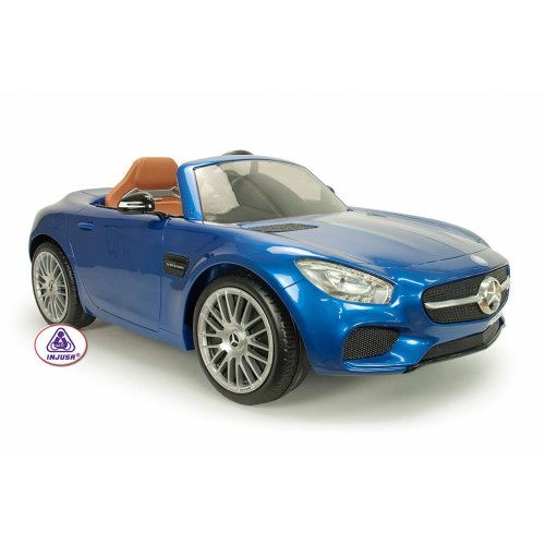 Mercedes Car- 6 Volt - Blue