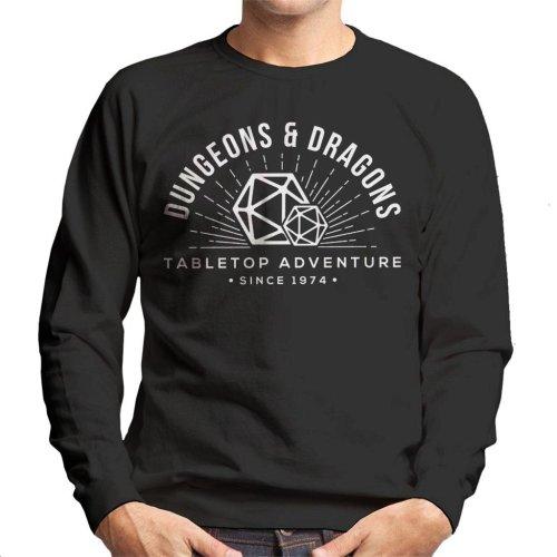 Dungeons And Dragons Table Top Adventure Men's Sweatshirt