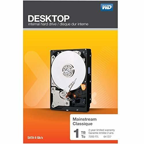 WD WD 1 TB 3 5 Inch Desktop Mainstream WDBH2D0010HNC NRSN