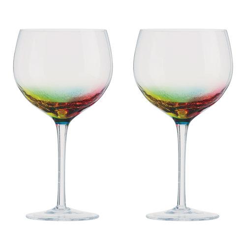 Artland Neon Set of 2 Gin Glasses