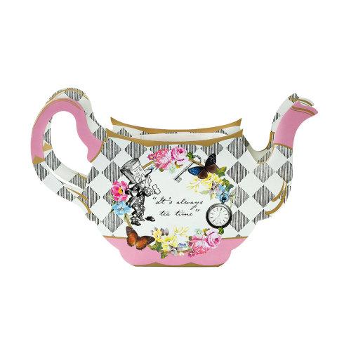 Alice in Wonderland Teapot Vase Centrepiece - Party Wedding Decoration