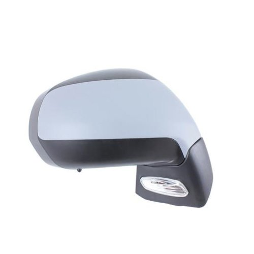 Peugeot 3008 2009-> Electric Adjust Wing Door Mirror Primed Cover Drivers Side