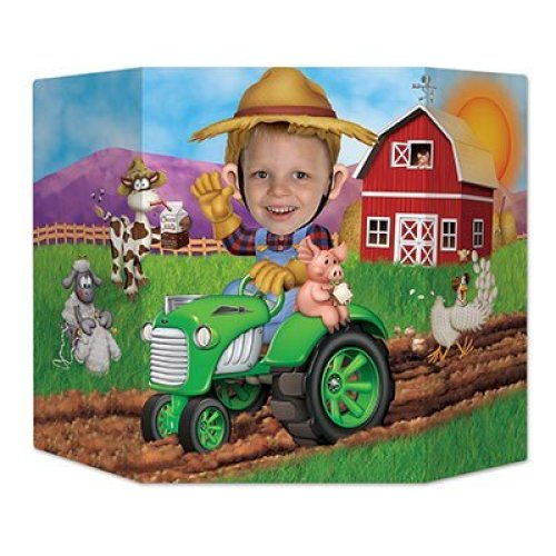 Beistle Farm Photo Property 3 Feet 10 Inch by 25 Inch Multicolor