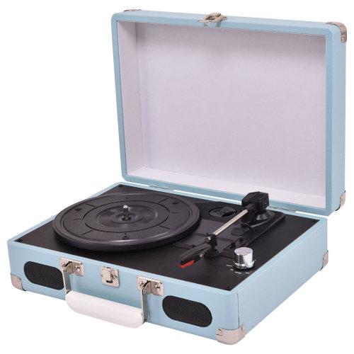 3 Speed Vinyl Record Player Turntable Retro