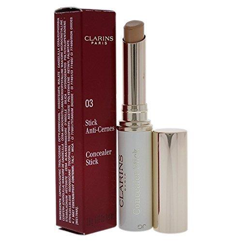 Clarins Concealer Stick, No. 03 Medium Beige, 0.09 Ounce