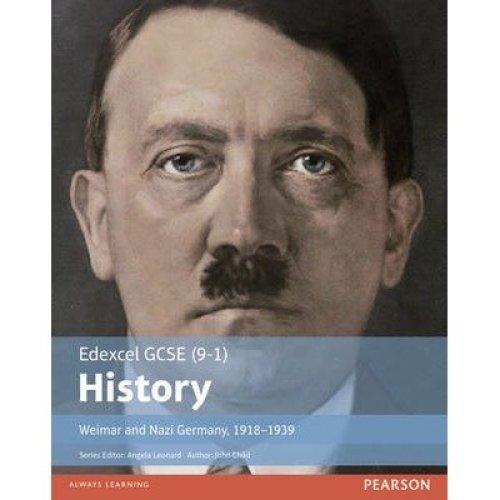 Edexcel Gcse (9-1) History Weimar and Nazi Germany, 1918-1939