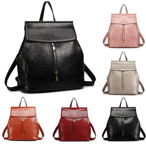 Miss Lulu Women Fashion Leather Backpack Girls School Bag