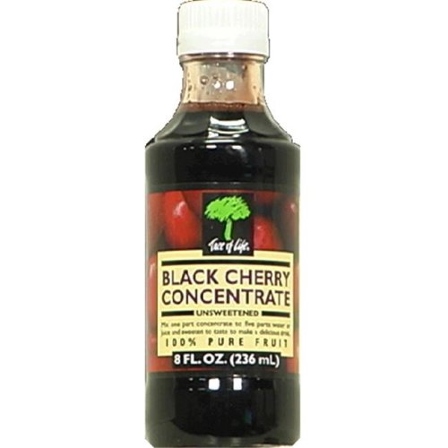 Black Cherry Unsweetened Juice Concentrate 8 Ounces