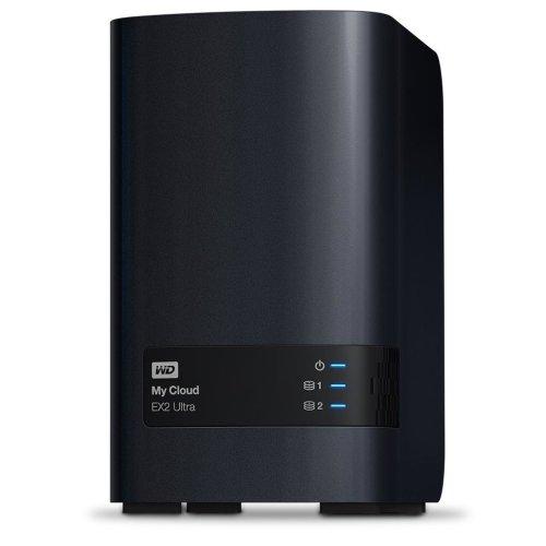Western Digital My Cloud EX2 Ultra 6 TB NAS Compact Ethernet LAN Black