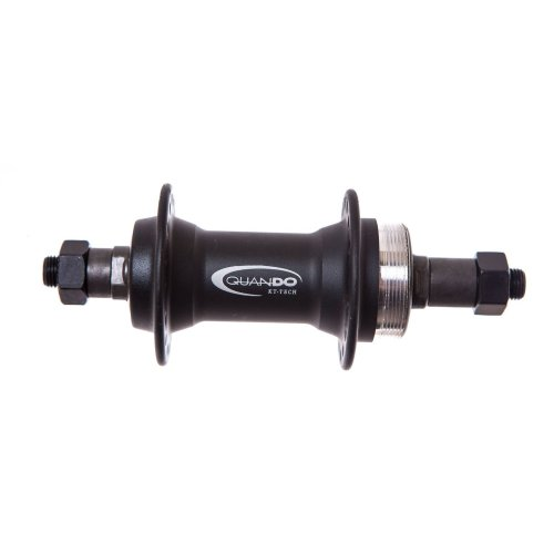 QUANDO REAR Quick Release 32 Hole WHEEL HUB (130mm OLN) Threaded Freewheels Bike