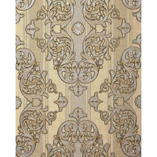 EDEM 580-31 Baroque-wallpaper metallic effect yellow gold 5.33 sqm (57 ft2)
