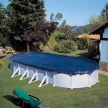 GRE Swimming Pool Cover Winter Cover 730 x 375 cm