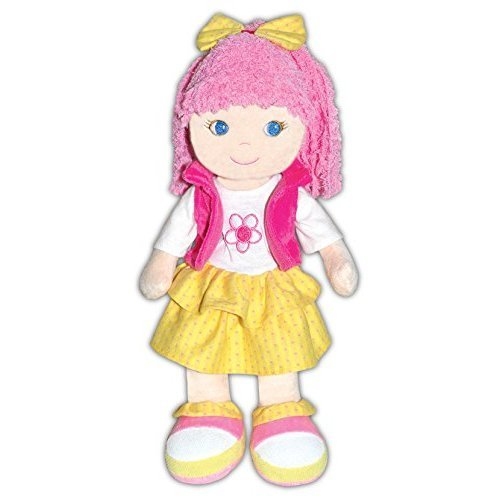 GirlznDollz Leila - School Outing Baby Doll, Pink/Yellow