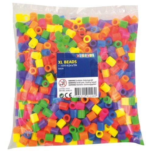 Pbx2456313 - Playbox - Xl Beads 1000 Pcs Neon