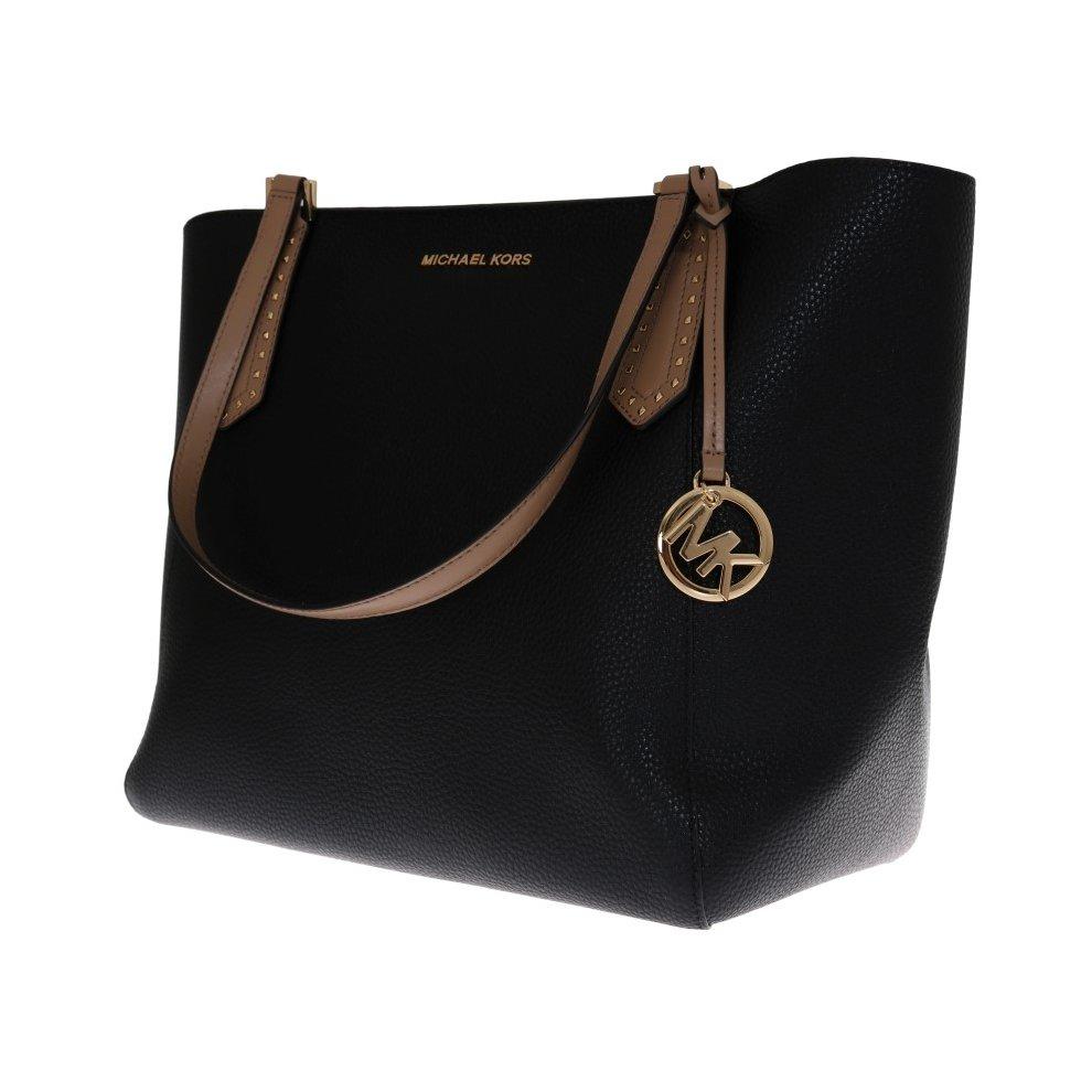 4f4725f8127f73 ... Michael Kors Handbags Black KIMBERLY Leather Tote Bag - 1 ...